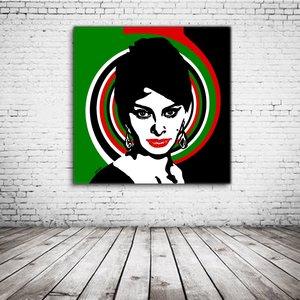 Sofia Loren Pop Art