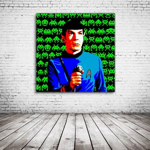 Spock Star Trek Pop Art