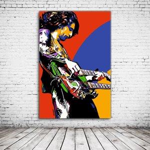 Jimmy Page Pop Art