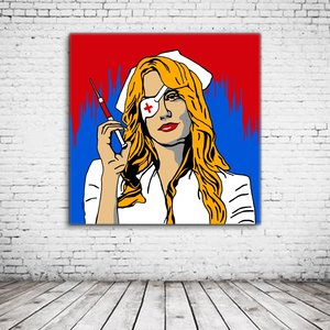Kill Bill The Nurse Pop Art