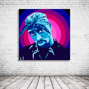 Pop Art Tupac Shakur