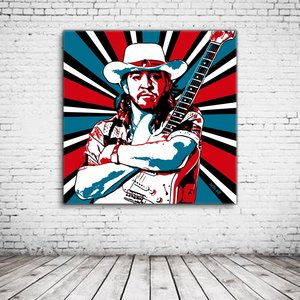 Stevie Ray Vaughan Pop Art