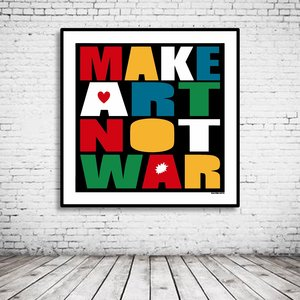 Pop Art Make Art Not War