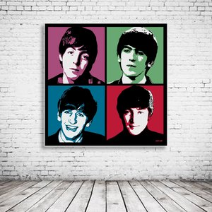 Pop Art The Beatles