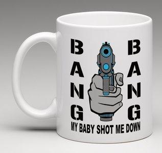 Bang Bang porseleine mok