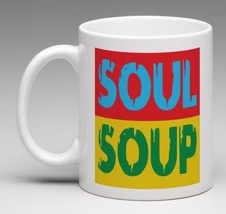 Soup porseleine mok