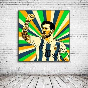 Pop Art Messi La Pulga
