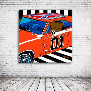 Pop Art General Lee 01