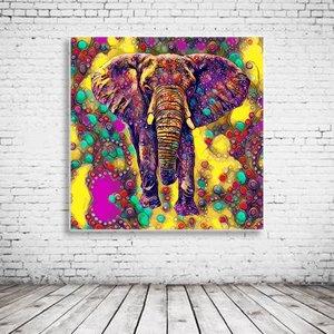 Pop Art Elephant