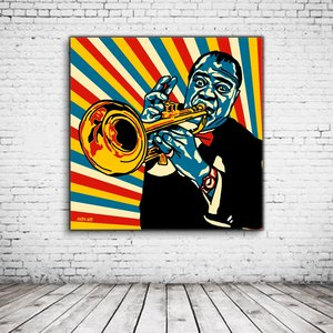 Pop Art Louis Armstrong