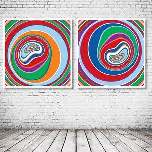 Abstract Circles Art