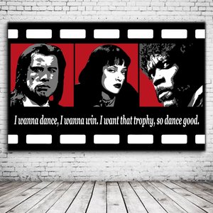 Pop Art Pulp Fiction