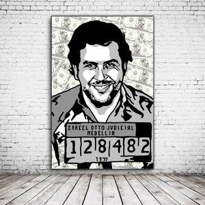 Pop Art Pablo Escobar