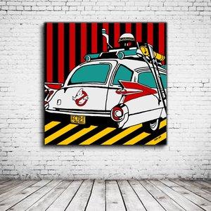 Pop Art Ecto 1 Ghostbusters