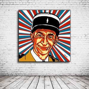 Pop Art Louis De Funes