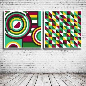 Duo Modern Art N° 122 & 126
