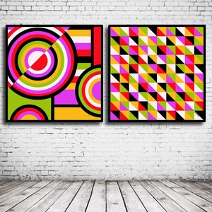 Duo Modern Art N° 121 & 125