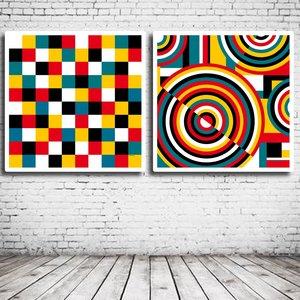 Duo Modern Art N° 127 & 129
